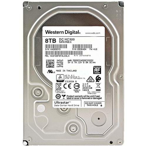 HDD 8 TB 3,5 WD 7200RPM ULTRASTAR