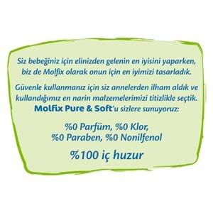 Molfix Pure&Soft Ekonomik Beden:5 (11-18Kg) Junior 44 Adet Bebek Bezi