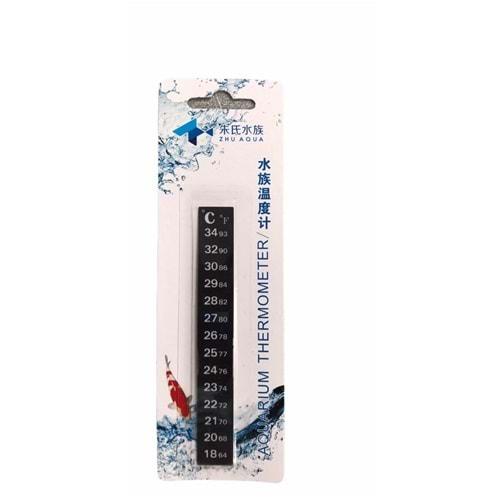 WD-01 Cama Yapışan Şerit Akvaryum Derecesi (Termometre)
