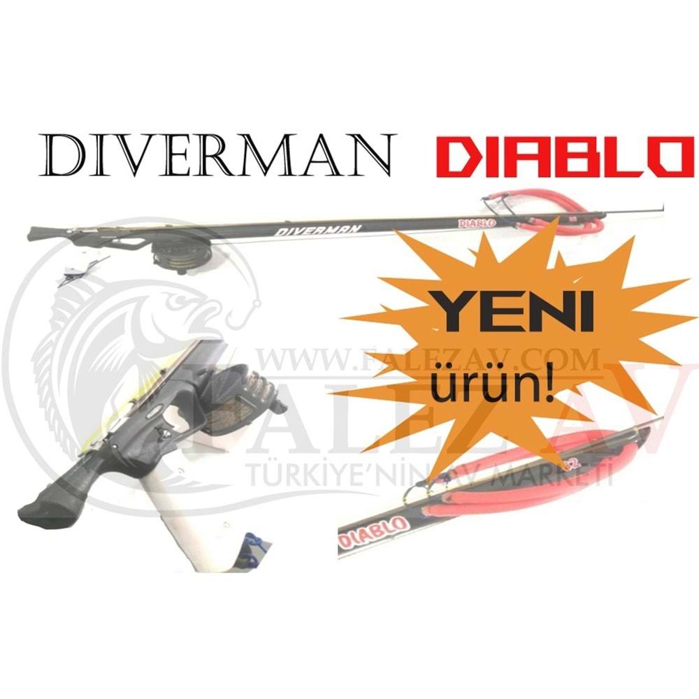 Diverman Diablo Zıpkın (Açık Kafa) Çift Lastik - 90 CM