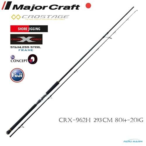 Major Craft New Crostage CRX-962H Shore Jigging Kamış 293cm 80 (60-100)gr Olta Kamışı