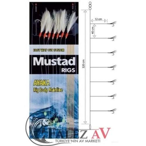 Mustad Çapari T82 4 Feather Rigs