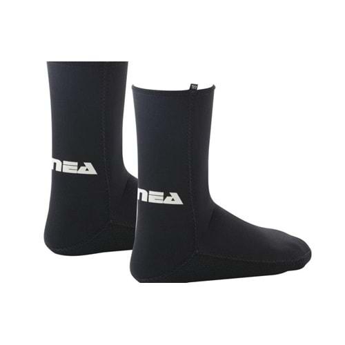 Apnea 3 MM Çorap Siyah - XL