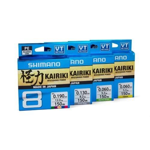 Shimano Kairiki 8 300m Yellow - 016 MM