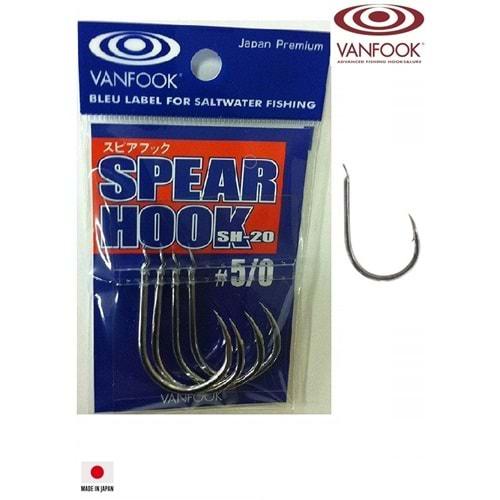 Vanfook Spear Hook SH-20 Asist İğnesi #5/0
