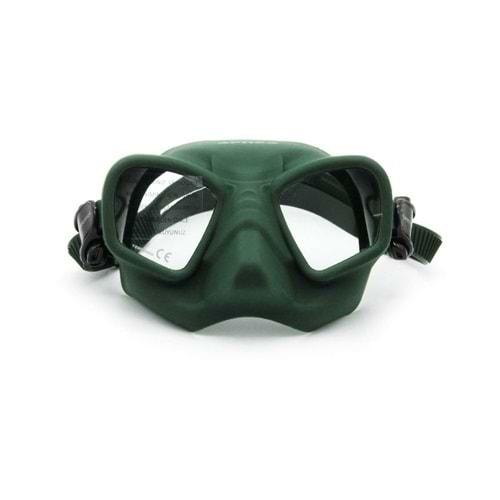 Apnea Competition Dark Green Mask ME44