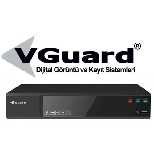 VGUARD VG-16C2-NVR 16 KANAL 12 MP H265+ 2 DİSK NETWORK KAYIT CİHAZI